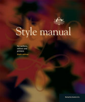 Book cover of the Australian Government Style Manual